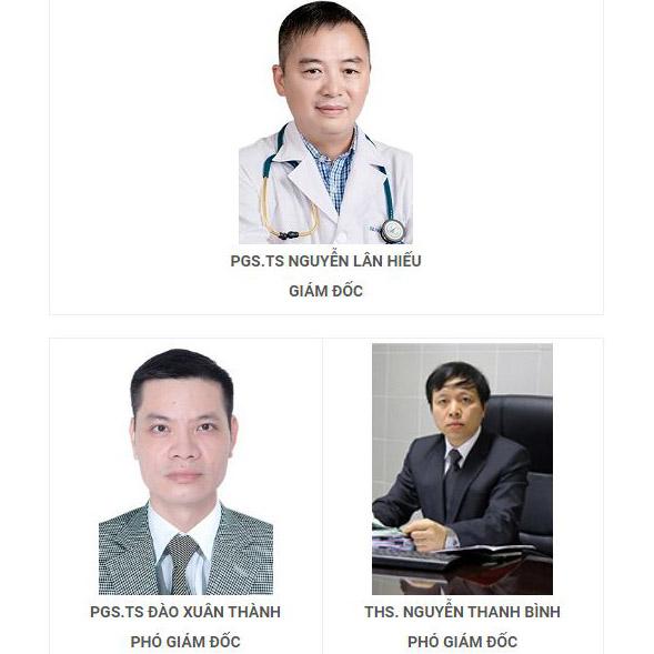 ban giám đốc bệnh viện đh y hà nội