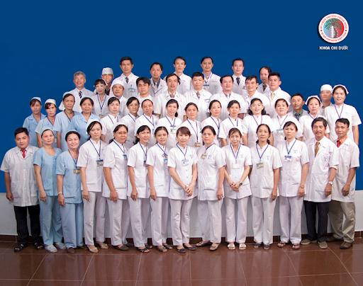 Các y, bác sĩ khoa chi dưới Bệnh viện chấn thương chỉnh hình tphcm
