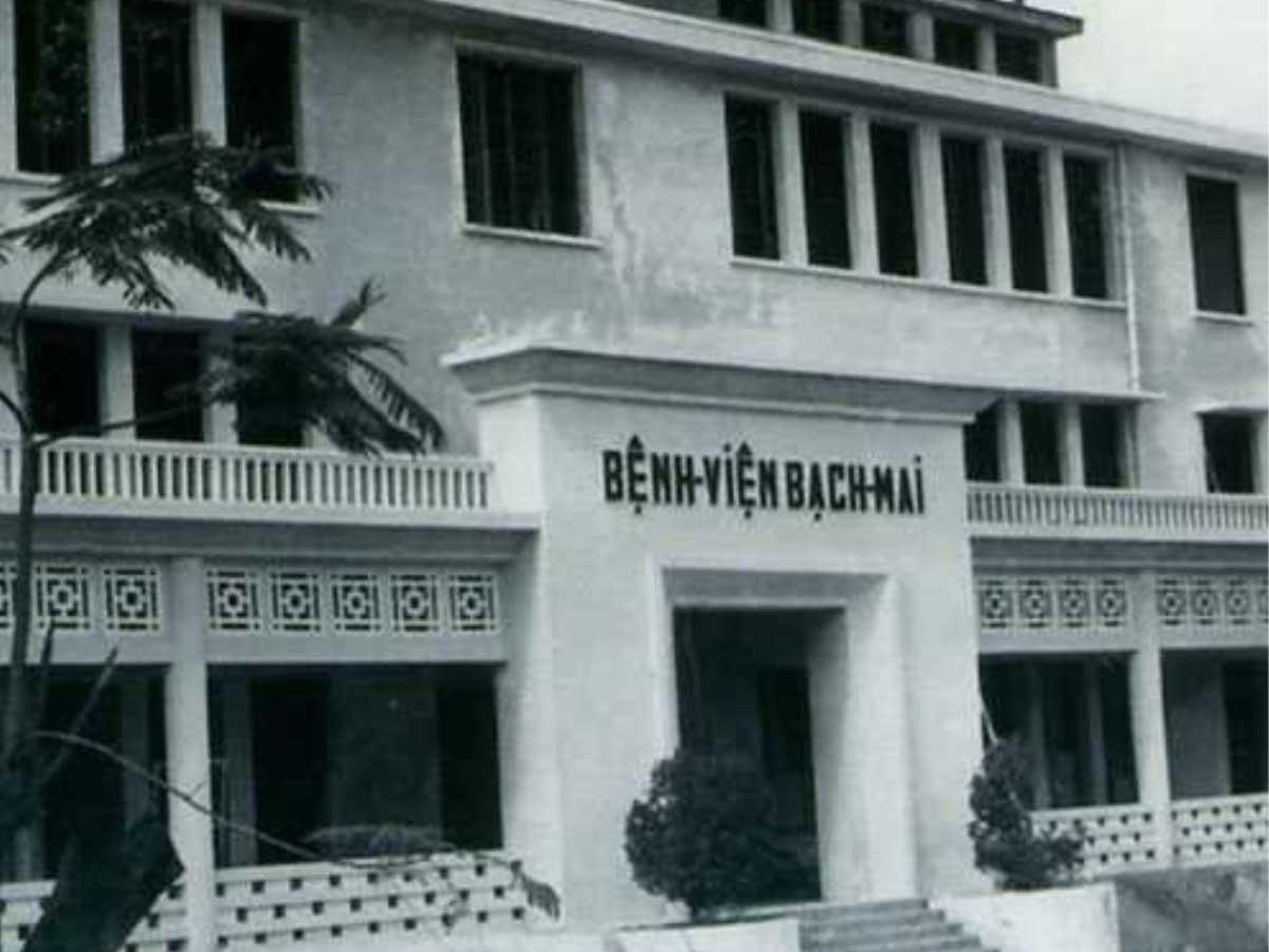 bệnh viện bạch mai cũ