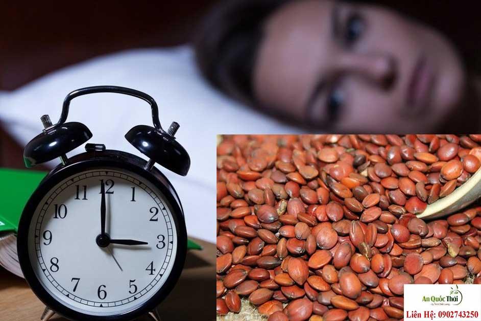 táo nhân chữa mất ngủ