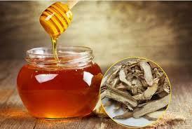 sâm xuyên đá ngâm mật ong