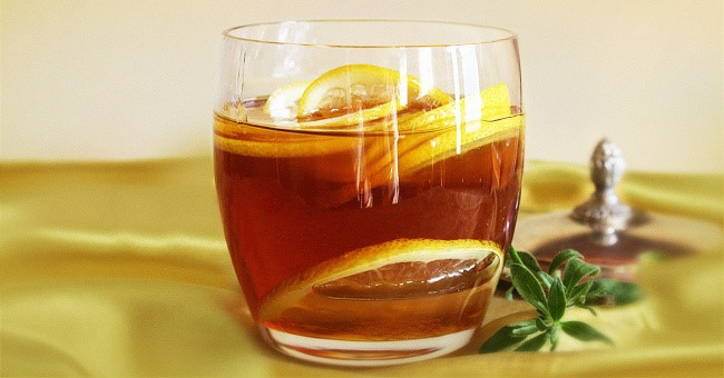 trà vỏ quýt