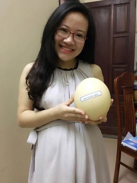 trứng đà điểu tốt cho phụ nữ mang thai và trẻ nhỏ