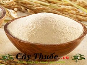 Bột cám gạo nguyên chất