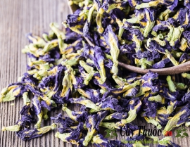 Hoa đậu biếc có tác dụng gì? Cách sử dụng hoa đậu biếc khô hoặc tươi.