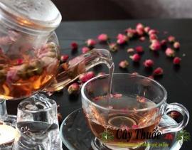Trà hoa hồng có tác dụng gì? Cách pha trà hoa hồng tốt cho sức khỏe.